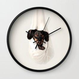 Bug in a rug Wall Clock