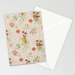 Carnivorous Floral Stationery Cards