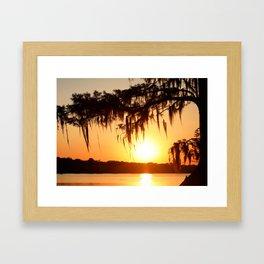 Cajun Sun Framed Art Print