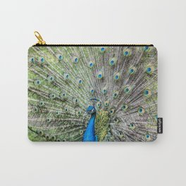 The peacock portrait Carry-All Pouch