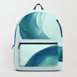 Serenity Enso No. 1 by Kathy Morton Stanion Backpack