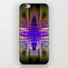 Electric Goddess iPhone Skin