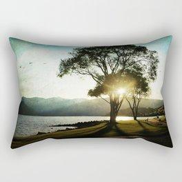 casting shadows Rectangular Pillow
