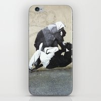 banksy iPhone & iPod Skins featuring BANKSY  by Art Ground