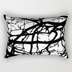 black branches Rectangular Pillow