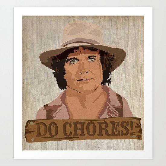 Do Chores! Art Print