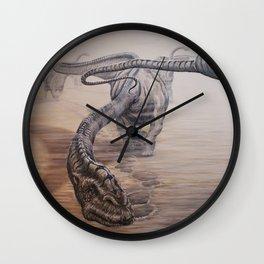 Desert Giants Wall Clock