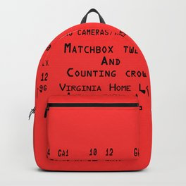 Concert Ticket - Matchbox 20 and Counting Crows Backpack