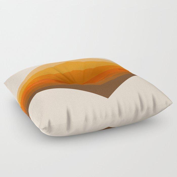 Golden Corner Floor Pillow By