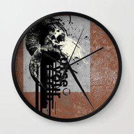 Many Grains of Salt Wall Clock