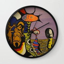 Portal Travelers Wall Clock