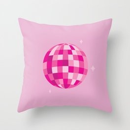 Disco Dreams Throw Pillow