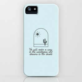 Path in the Wilderness iPhone Case