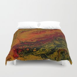 'Not So Mellow Yellow' by Angelique G. FomtheBreathofDaydrems Duvet Cover