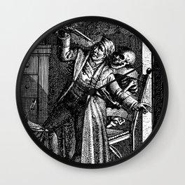DEATH by GUN Wall Clock