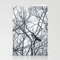 pigeon Stationery Cards featuring pigeon by Lama BOO