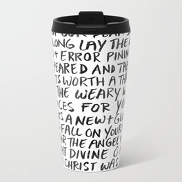 O Night Divine Metal Travel Mug