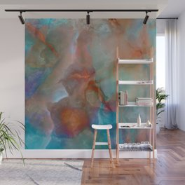 Colorful watercolor abstraction Wall Mural