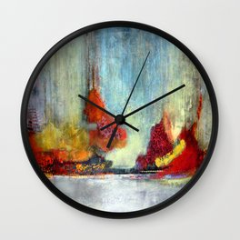 Night Landing #2 Wall Clock