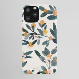 Clementine Sprigs iPhone Case