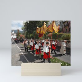Procession Mini Art Print