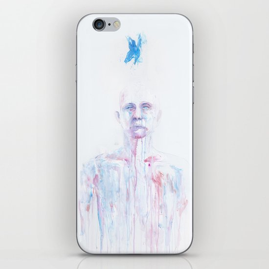 Last Blue Breath iPhone & iPod Skin