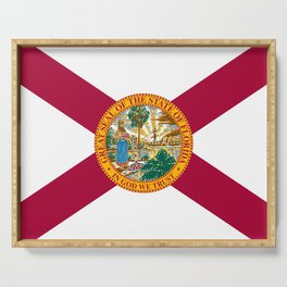 Flag of Florida Serving Tray