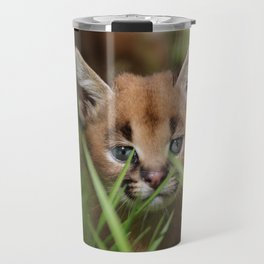 caracal kitten Travel Mug