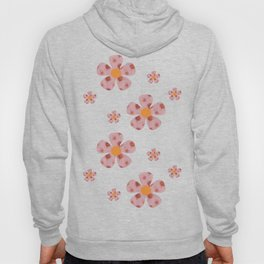 Flowers Floating Hearts Hoody