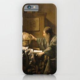 "Johannes Vermeer ""The Astronomer"" iPhone Case"
