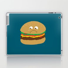 Sad Hamburger Laptop & iPad Skin