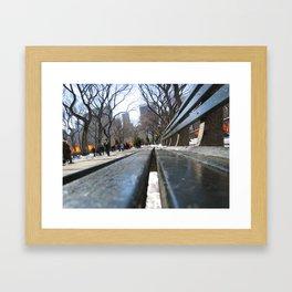 Central Park, New York City, U.S.A Framed Art Print