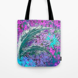 Ferns and Floweres #3 Tote Bag