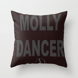 Molly Dancer Throw Pillow