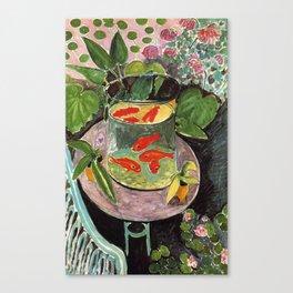 Henri Matisse Goldfish 1911, Goldfishes Artwork, Men, Women, Youth Canvas Print
