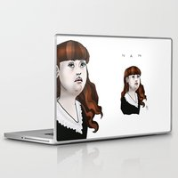 nan lawson Laptop & iPad Skins featuring Nan by Dan Paul Roberts
