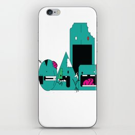 """Zombie Shapes""  iPhone Skin"