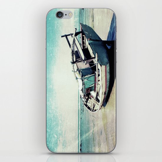 Waiting for the tide to change iPhone & iPod Skin