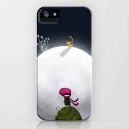 ...And the Moon iPhone Case