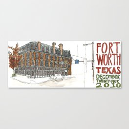 Fort Worth Canvas Print