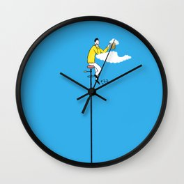 Cloud beer Wall Clock