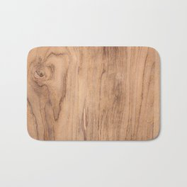 Wood Surface Bath Mat