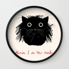 Human, I am your master Wall Clock