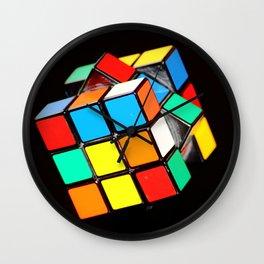 Cubic Cube Wall Clock