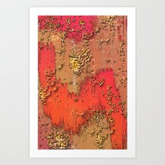 Behind the Walls Art Print