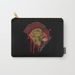 Spartan Warrior | Sparta Head Fighter Spartiate Carry-All Pouch