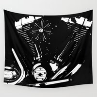 harley Wall Tapestries featuring Harley #2 by RS4S6