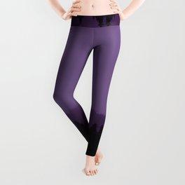 Purple Fog Leggings