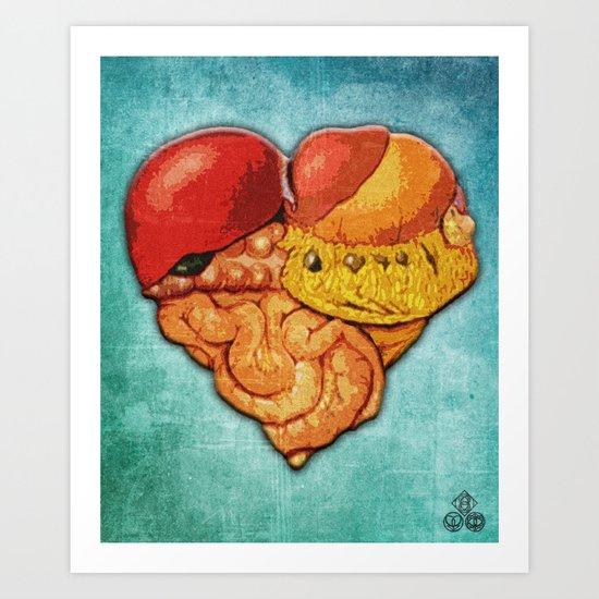 de tripas corazones Art Print