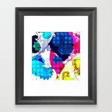 Paisley Pansie Framed Art Print